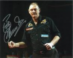 Bob Anderson, Darts, Genuine Signed Autograph (2)